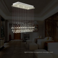 3 Lights Mini Hallway Crystal Hanging Lamp LED Decorative Lighting Fitting